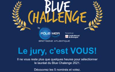 5 projets pour le Blue Challenge : dernier jour pour voter