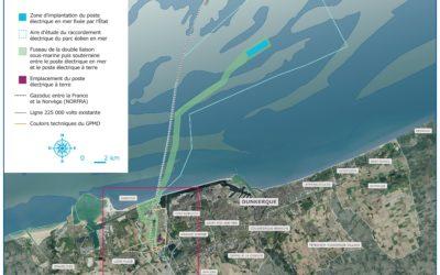 Raccordement électrique du parc éolien en mer de Dunkerque : une nouvelle étape franchie