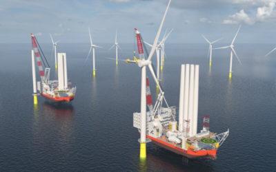 Cadeler commande deux nouveaux navires d'installation d'éoliennes de classe X à COSCO