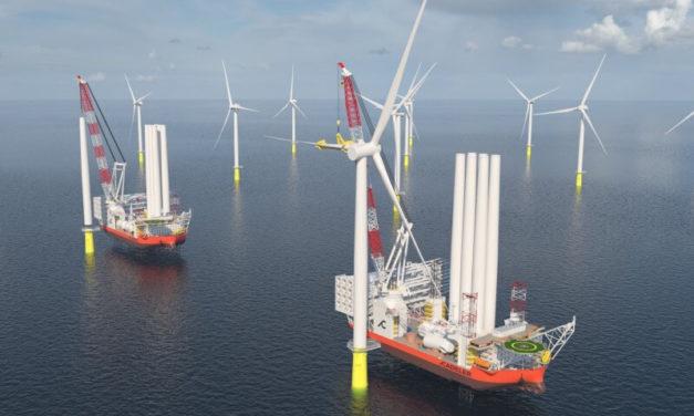 Le Wind Osprey de Cadeler A/S a été choisi par Ørsted pour Gode Wind 3 & Borkum Riffgrund 3