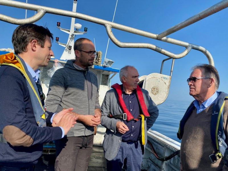 Saint-Brieuc : Trois parlementaires et un parc éolien en mer