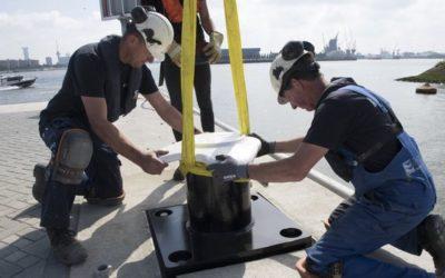 Port de Rotterdam : Impression de bollards en 3D