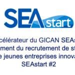 GICAN SEAstart lance l'appel à candidature pour SEAstart #2