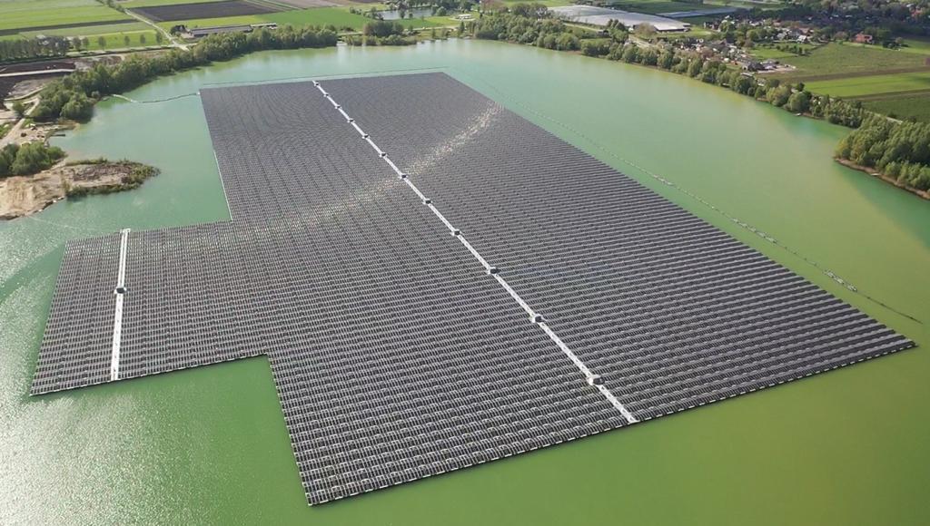 BayWa r.e. : Deux nouveaux parcs solaires flottants aux Pays-Bas