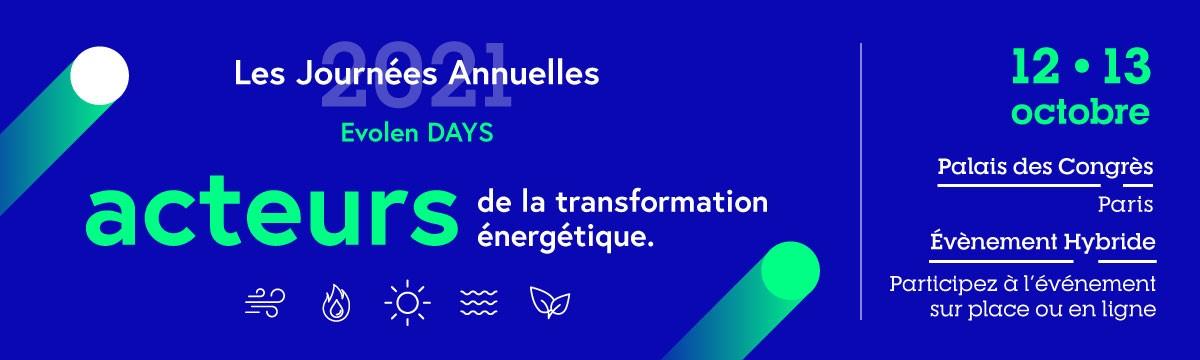 Journées Annuelles EVOLEN 2021, les inscriptions sont ouvertes !