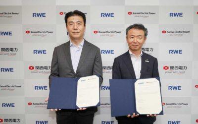 Kansai EPCO et RWE signent un accord pour développer le flottant au Japon