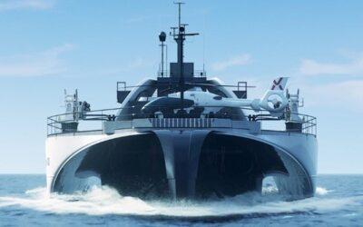 Un nouveau navire autonome pour transférer l'énergie des parcs éoliens marins