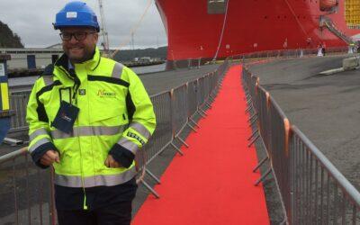 Visite du nouveau câblier Nexans Aurora inauguré à Halden en Norvège – 2