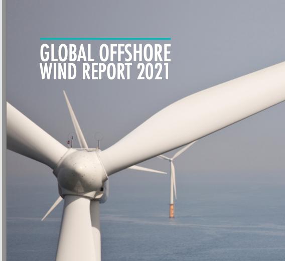 Le GWEC prévoit un rebondissement à plus de 12 GW d'eolien en mer en 2021