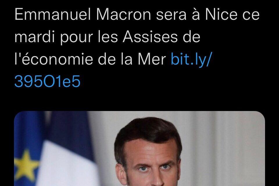 Le Président de la République sera aux Assises de l'économie de la mer