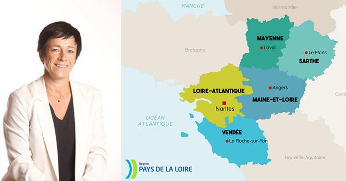 ITV exclusive de Claire Hugues, VP de la Région Pays de la Loire, à l'occasion des Journées de l'ANEL