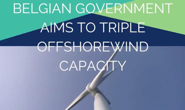 Belgique : Vers un triplement de l'éolien en mer !