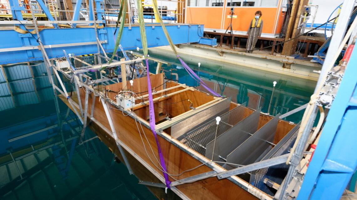 Innovation : des essais en rade de Brest pour tester une digue productrice d'énergie