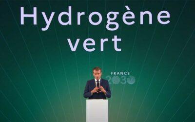 France 2030: L'hydrogène vert d'Emmanuel Macron